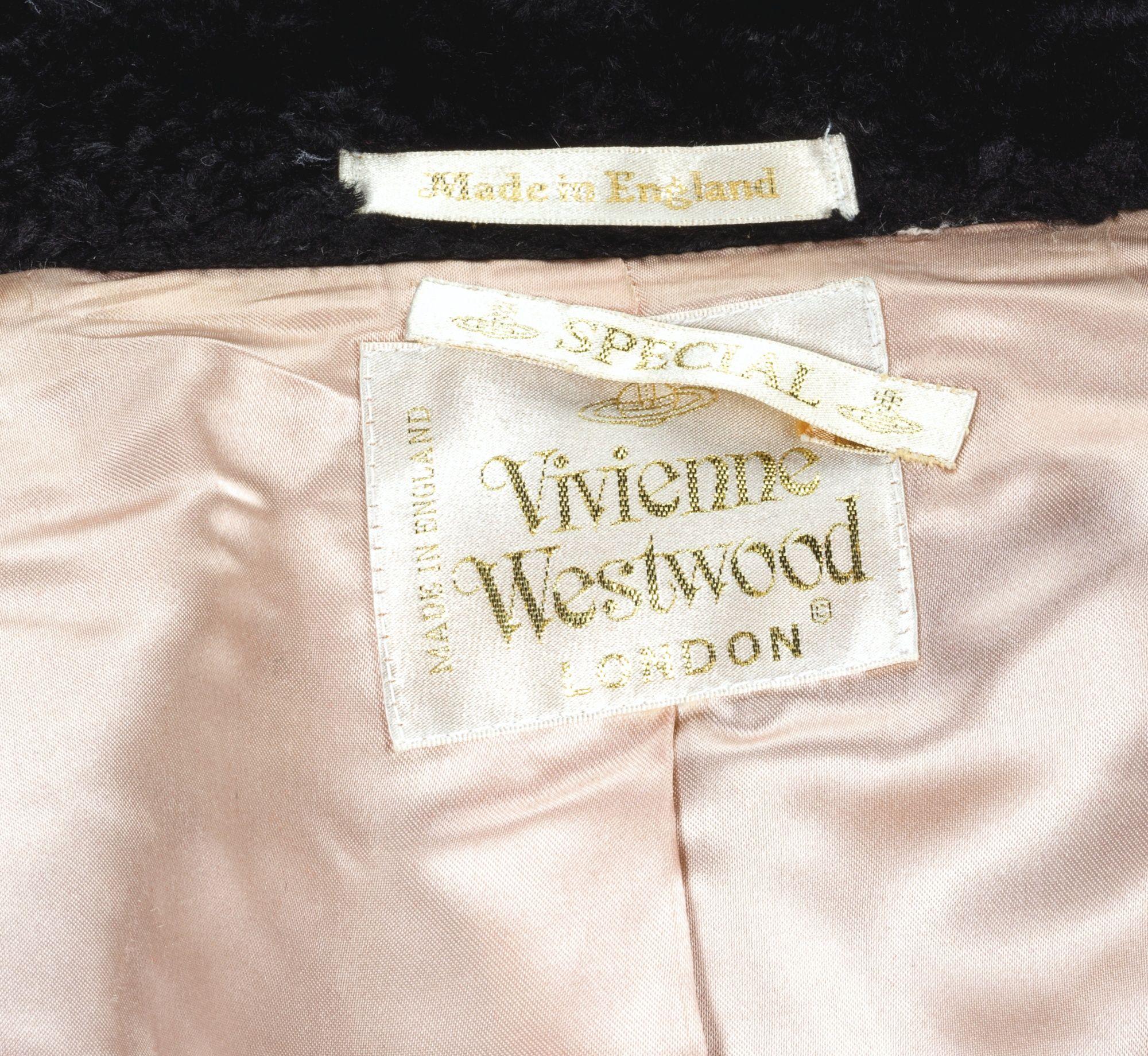 Vivienne Westwood Automne Hiver 1994 1995 Lot Clothing Tags Fashion Identity Fashion Branding