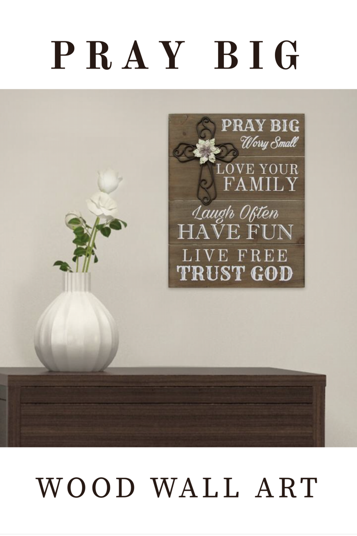 Add inspiration to the wall with this