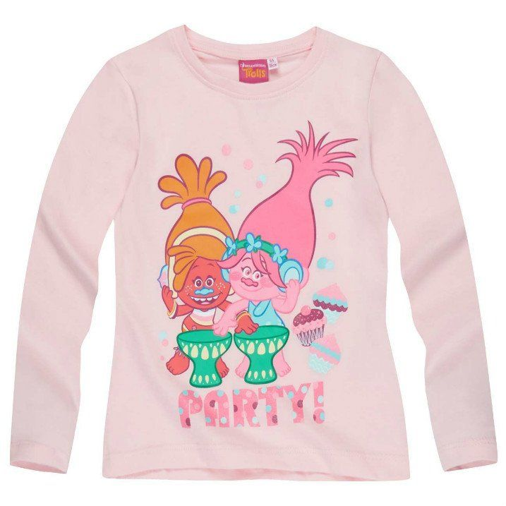 Girls Trolls Short Sleeved T Shirt Poppy 8 Years