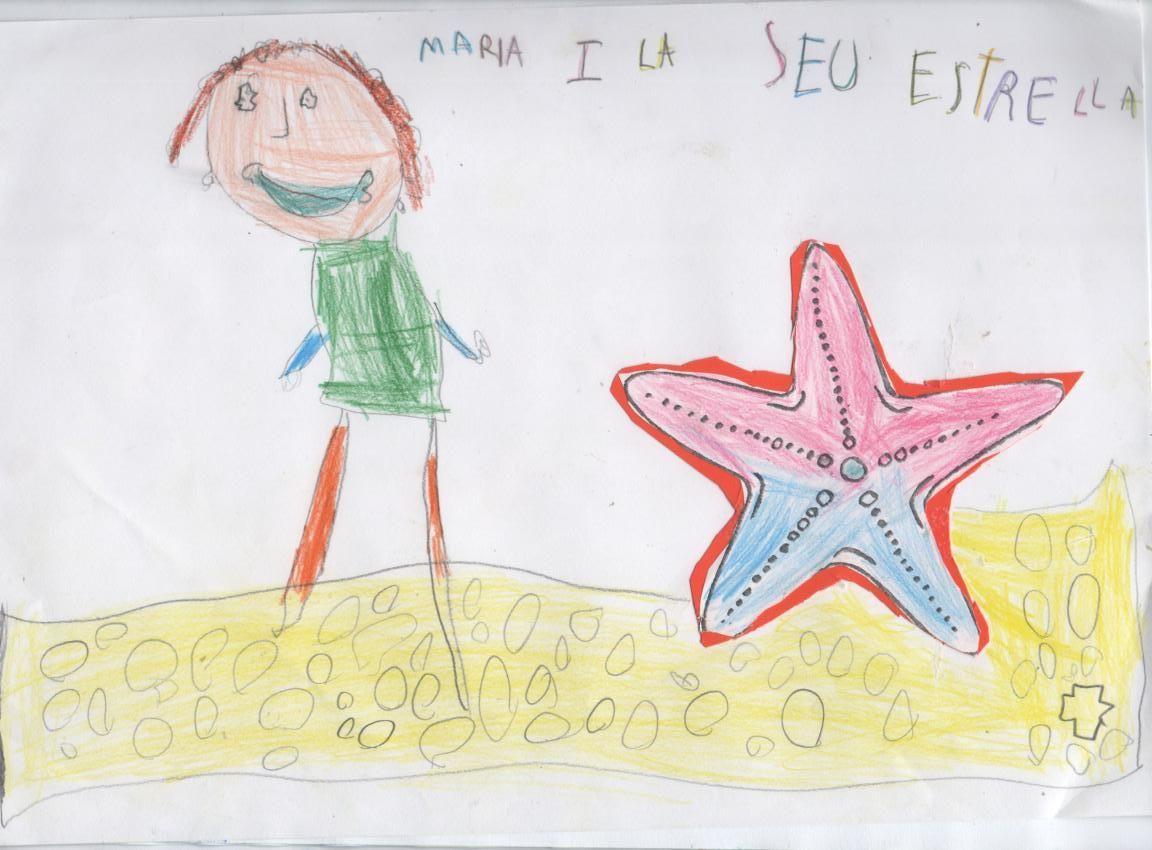 Maria i l'estrella de mar-1