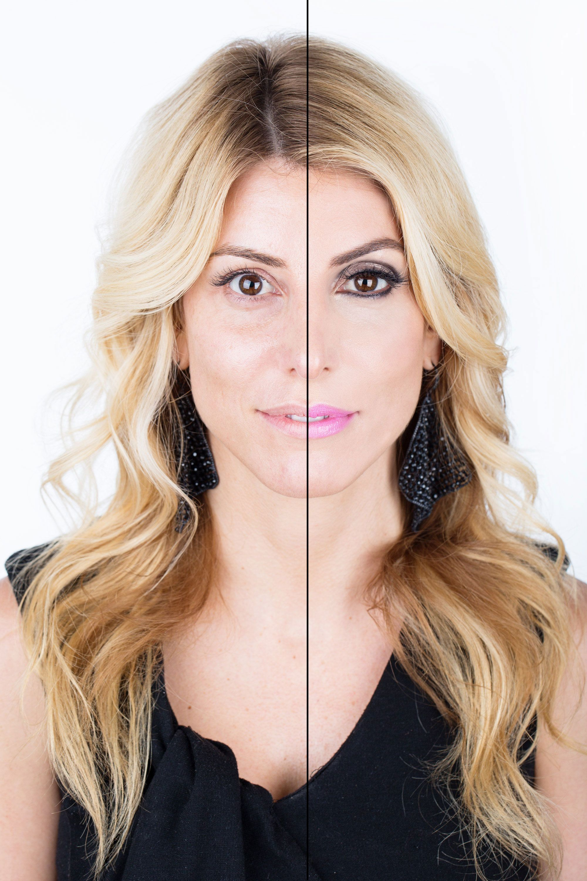 how to look like a model without makeup