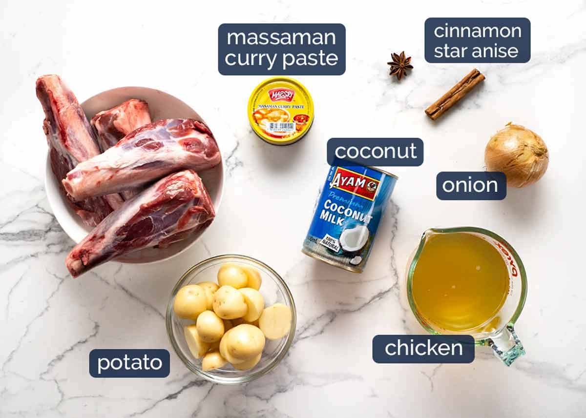 Lamb Shanks Massaman Curry | RecipeTin Eats | Lamb shanks ...