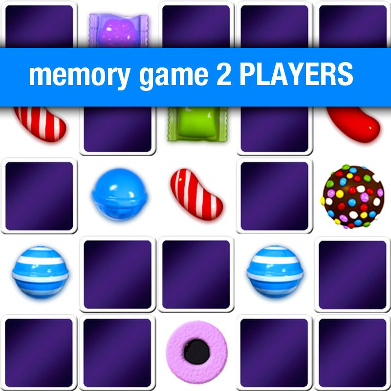 Play Memory Game For 2 Players Candy Crush Online And Free
