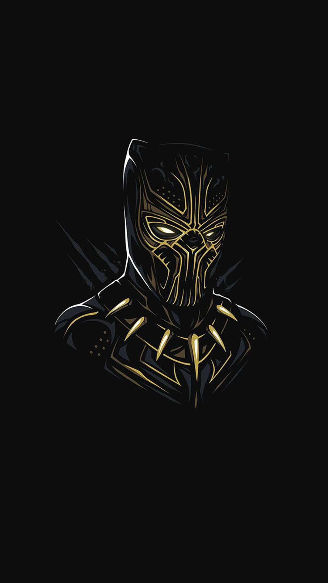 Black Panther Killmonger Minimal Iphone Wallpaper Black Panther Marvel Marvel Wallpaper Hd Black Panther Art