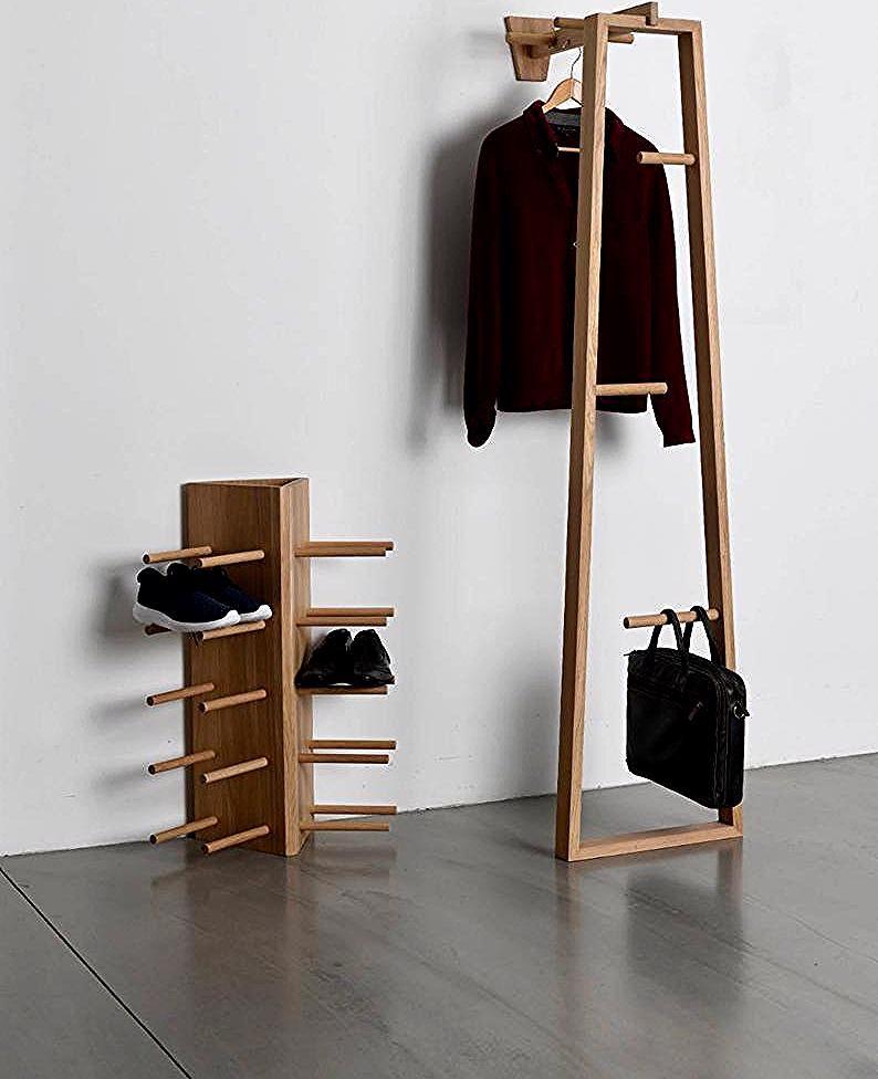 Photo of TB.13 Garderobenständer, Coat Stand, Garderobe, Kleiderstander, Flur möbel