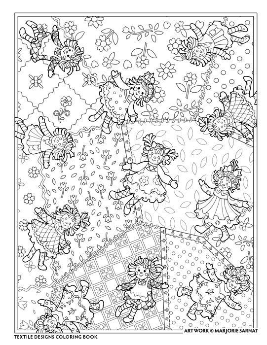 Colouring...dolls | Color Me Happy | Pinterest | Colorear, Dibujo y ...