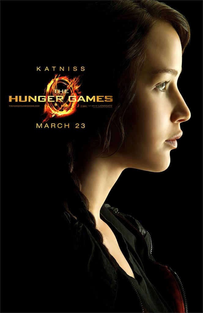 Official Hunger Games Katniss poster
