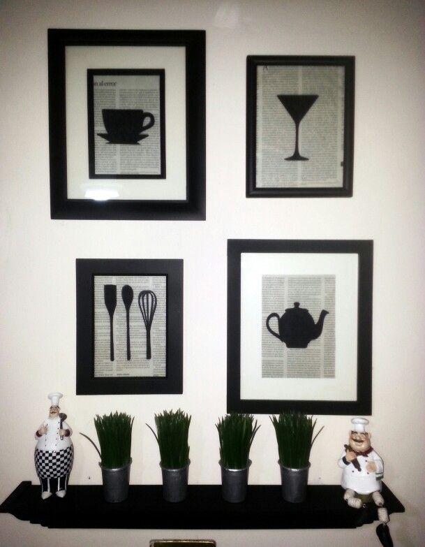 Cuadros decorativos cocina cosina pinterest ideas para kitchens and diy ideas - Cuadros decorativos para cocina ...