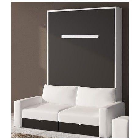 Cama abatible con sof casa camas abatibles cama for Mesas supletorias plegables