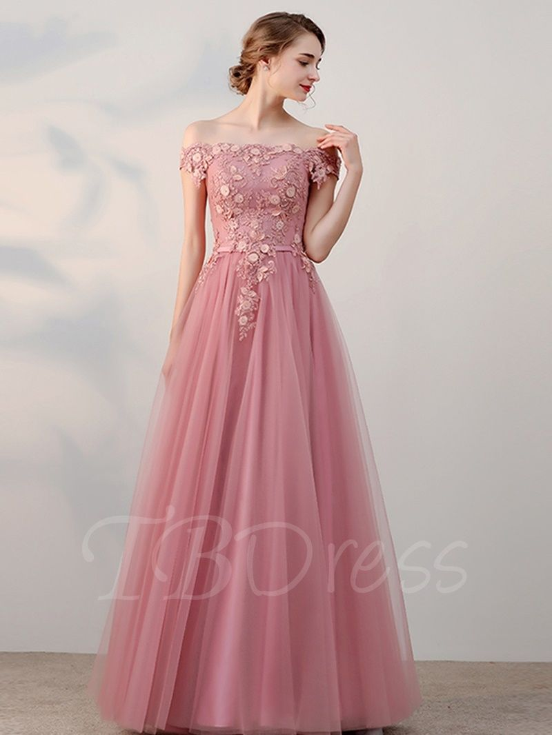 Tbdress offers high quality ALine OfftheShoulder Beading