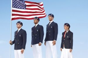 2012 Olympic uniforms, courtesy Ralph Lauren and Chairman Mao