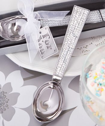 66dd5c50f112 ... modern Bridal Shower Favors and popular party favors. Sparkling Bling  Collection Ice Cream Scoop