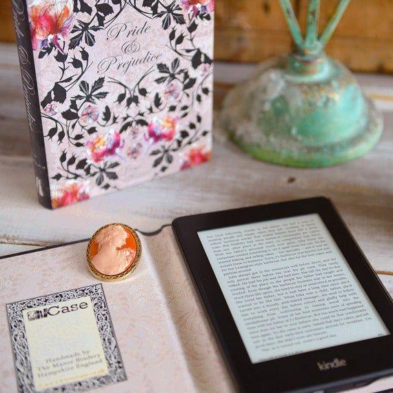 Kindle Case Pride and Prejudice Book Cover Design #prideandprejudice