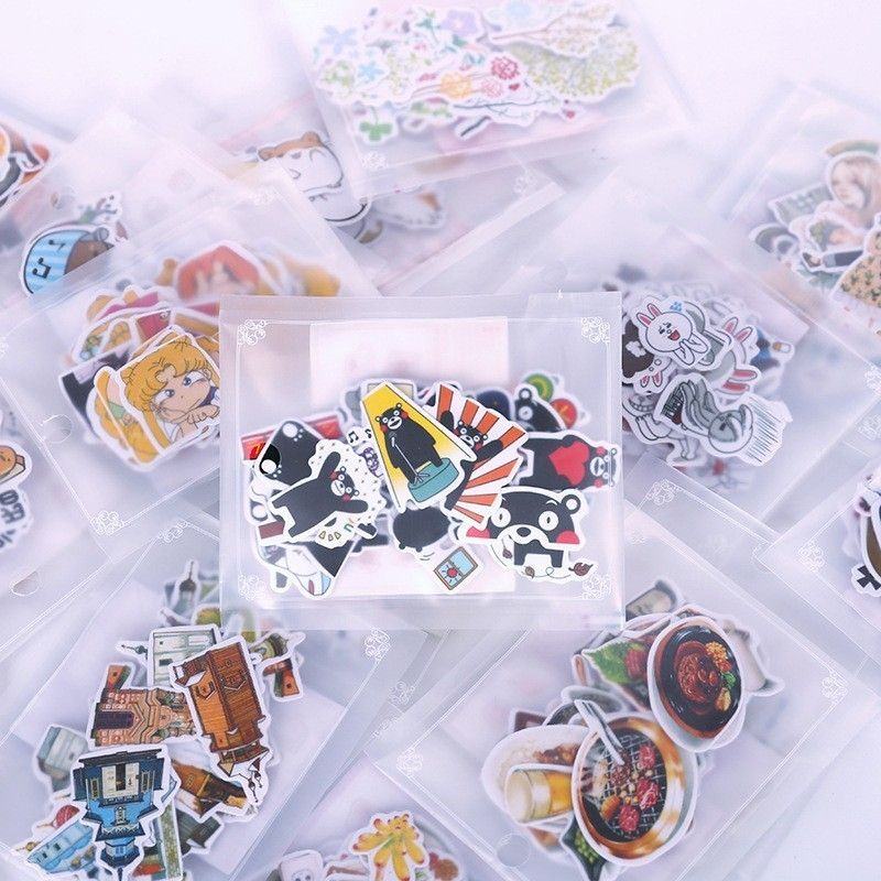 41x Fairy Lolita Girl Sticker Diy Notebooks Stationery Diary Decorative Stickers