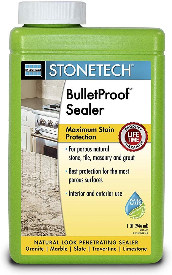 Stonetech Bulletproof Sealer 1 Quart 946l Tile Grout Sealers Amazon Com In 2020 Grout Sealer Sealer Tile Grout