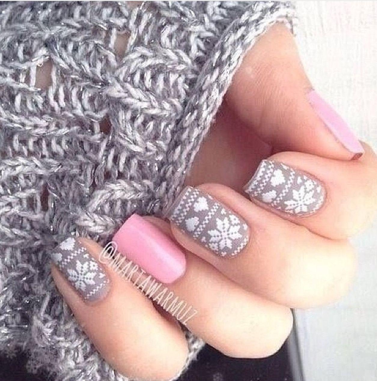 pinmalin gustafsson on beauty | pinterest | winter nails, nail