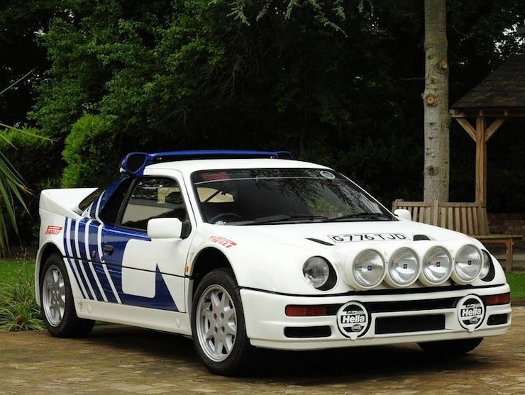 Ford Rs200 Coupe Original Car Ford Ford Racing Ford Rs