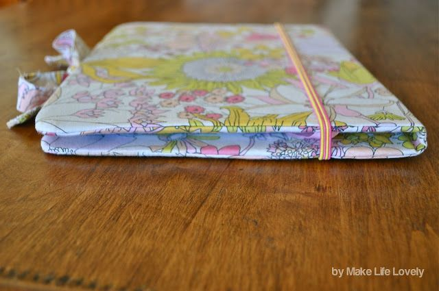 DIY iPad Case Tutorial (Made For Free Using Recycled & Upcyled Materia