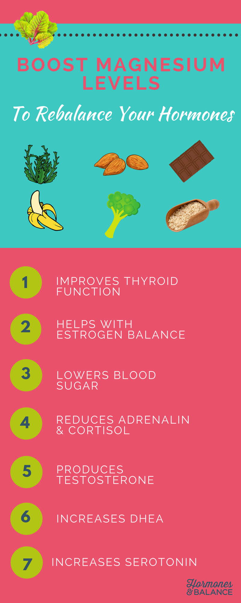 How To Boost Magnesium Levels To Rebalance Your Hormones Hormone Health Hormones Balance Hormones Naturally