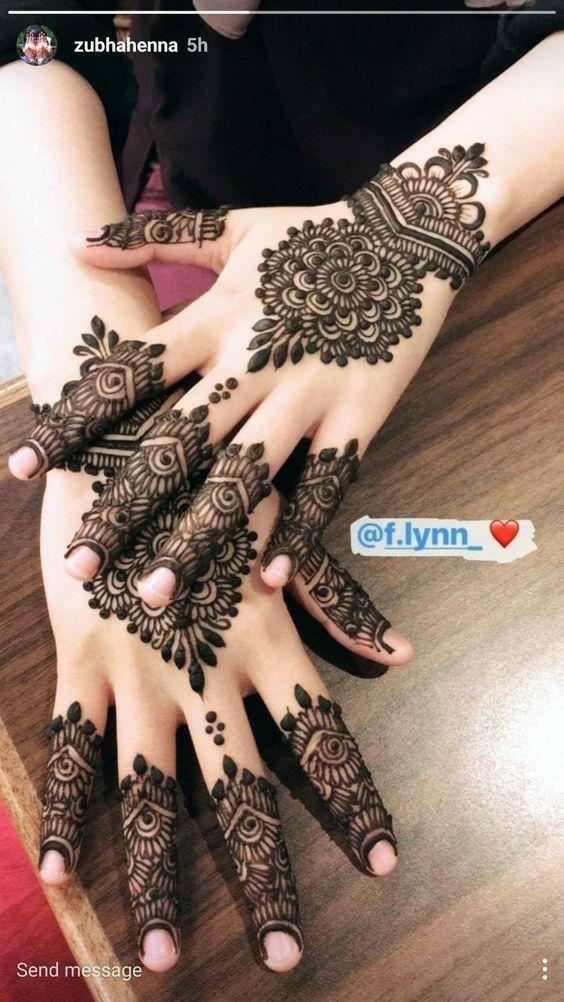 Pin By Nour Diab On Mehndi Designs Best Mehndi Designs Henna Tattoo Designs Mehndi Designs