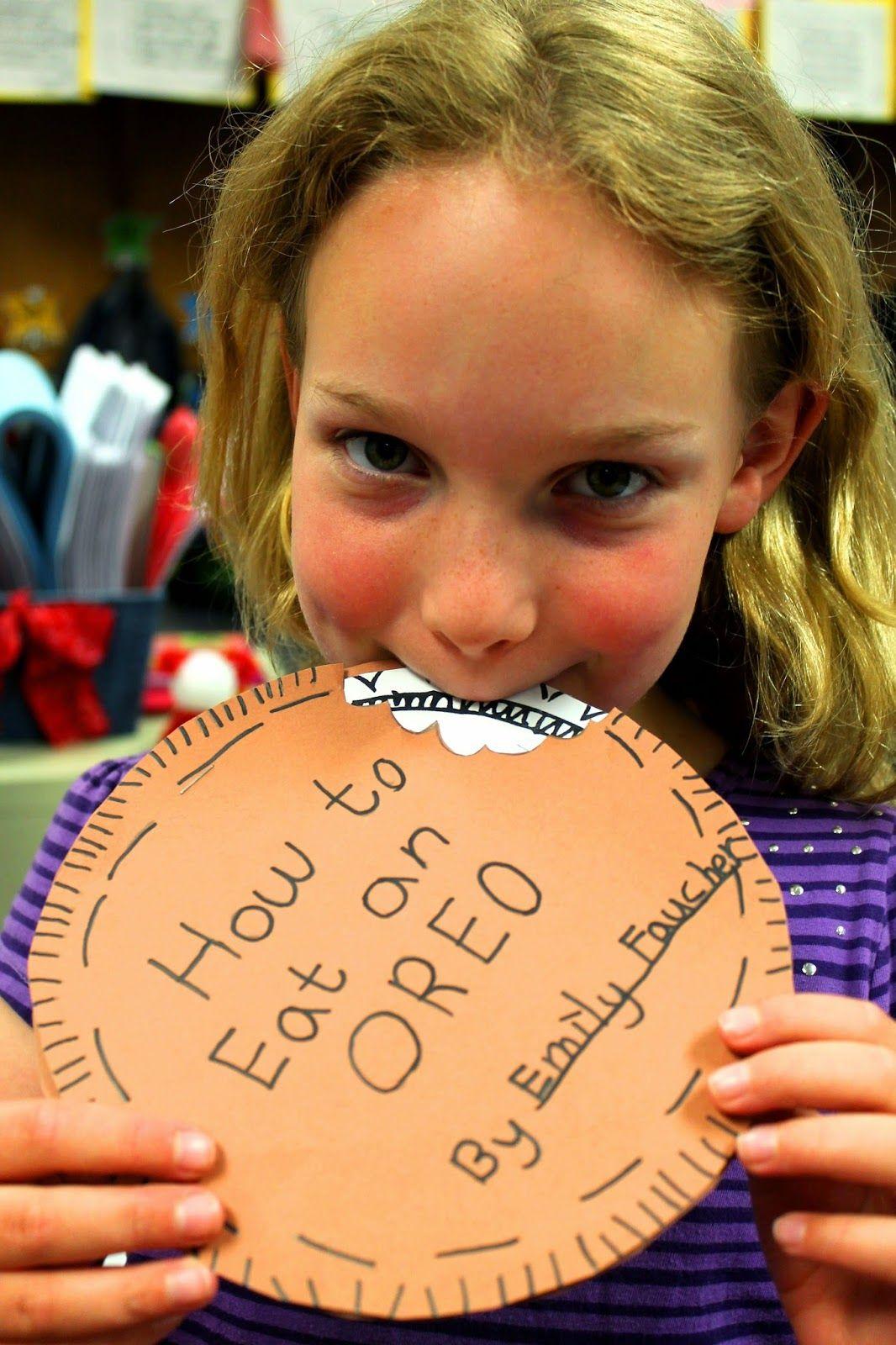 First Grade Wow Little Authors Explain How You Eat An