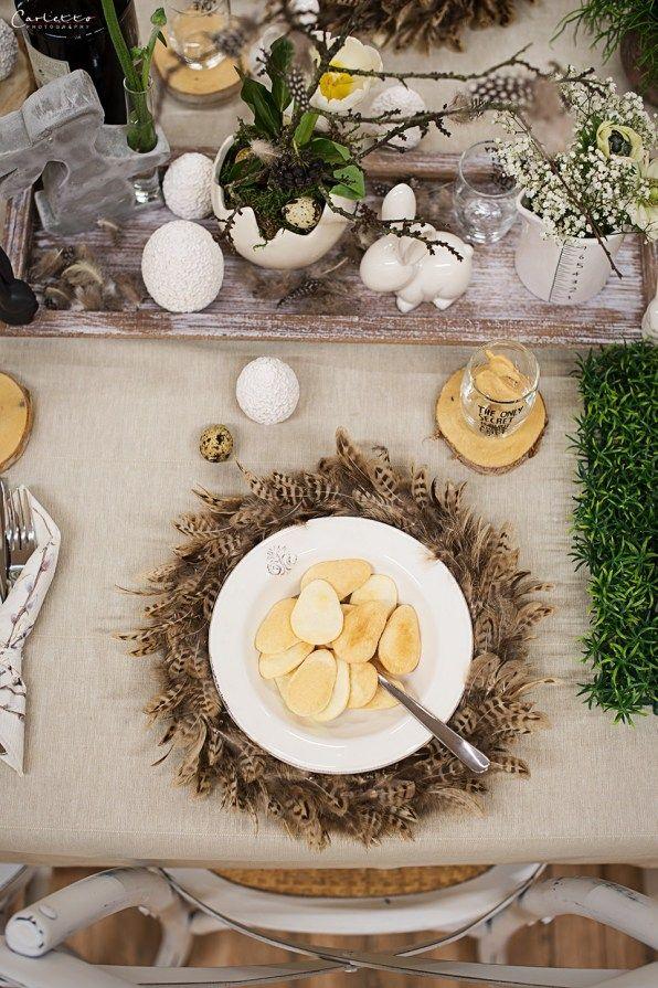 Ostern in Naturtönen *Deko & DIY-Tipps für den Ostertisch #gedecktertisch