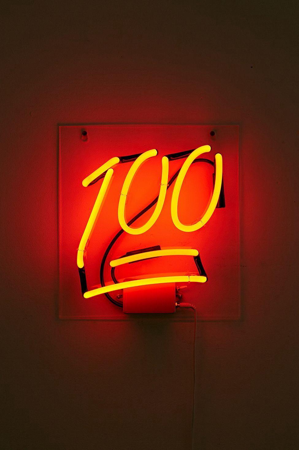 Orange Neon Aesthetic Pictures