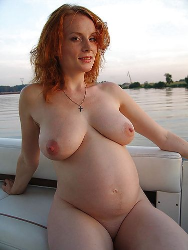 Beauty MILF Pregnant