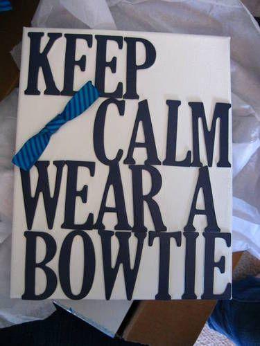 Bowtie wall art. Made by aliceownsj00. Doctor Who Swap Round 6.