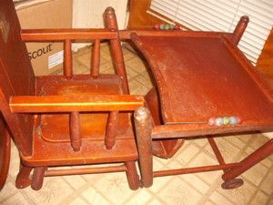 High Chair Converts To Table And Rocking Swing Antique Google Search For The Home Pinterest Chairs