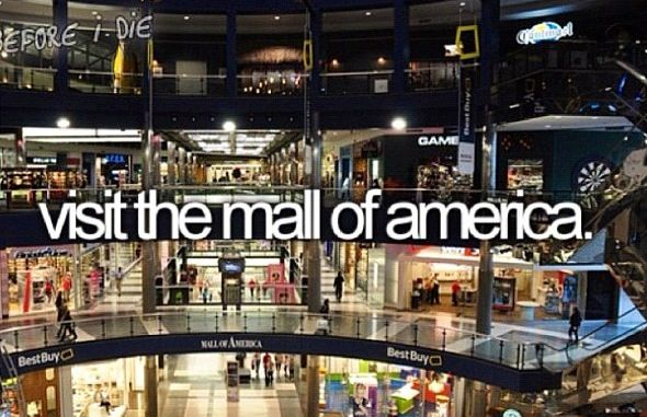 Mall Of America In Bloomington Mn Is