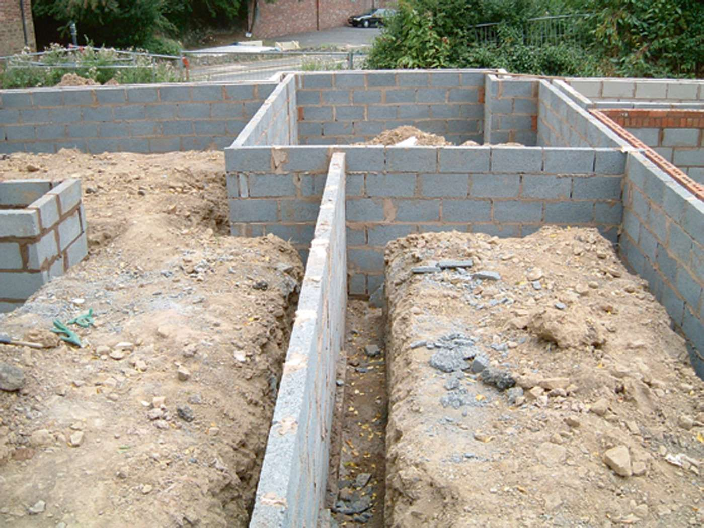 Foundation systems and soil types homebuilding
