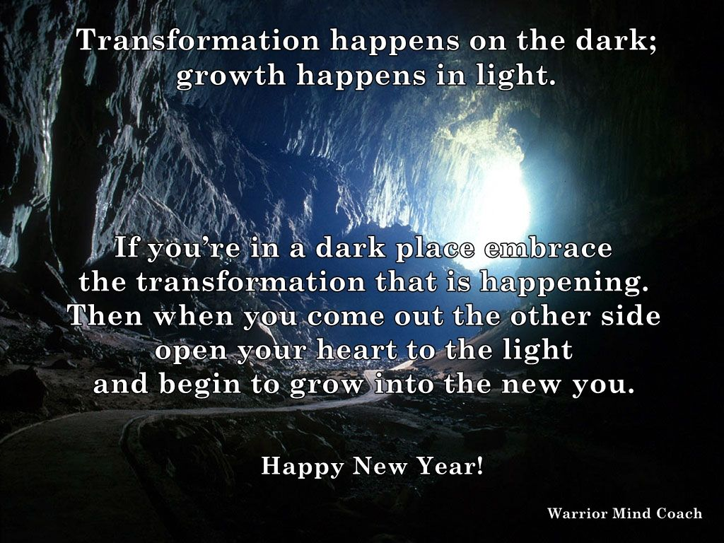 Light And Dark Quotes Transformation Happens On The Dark Growth Happens In Lightif