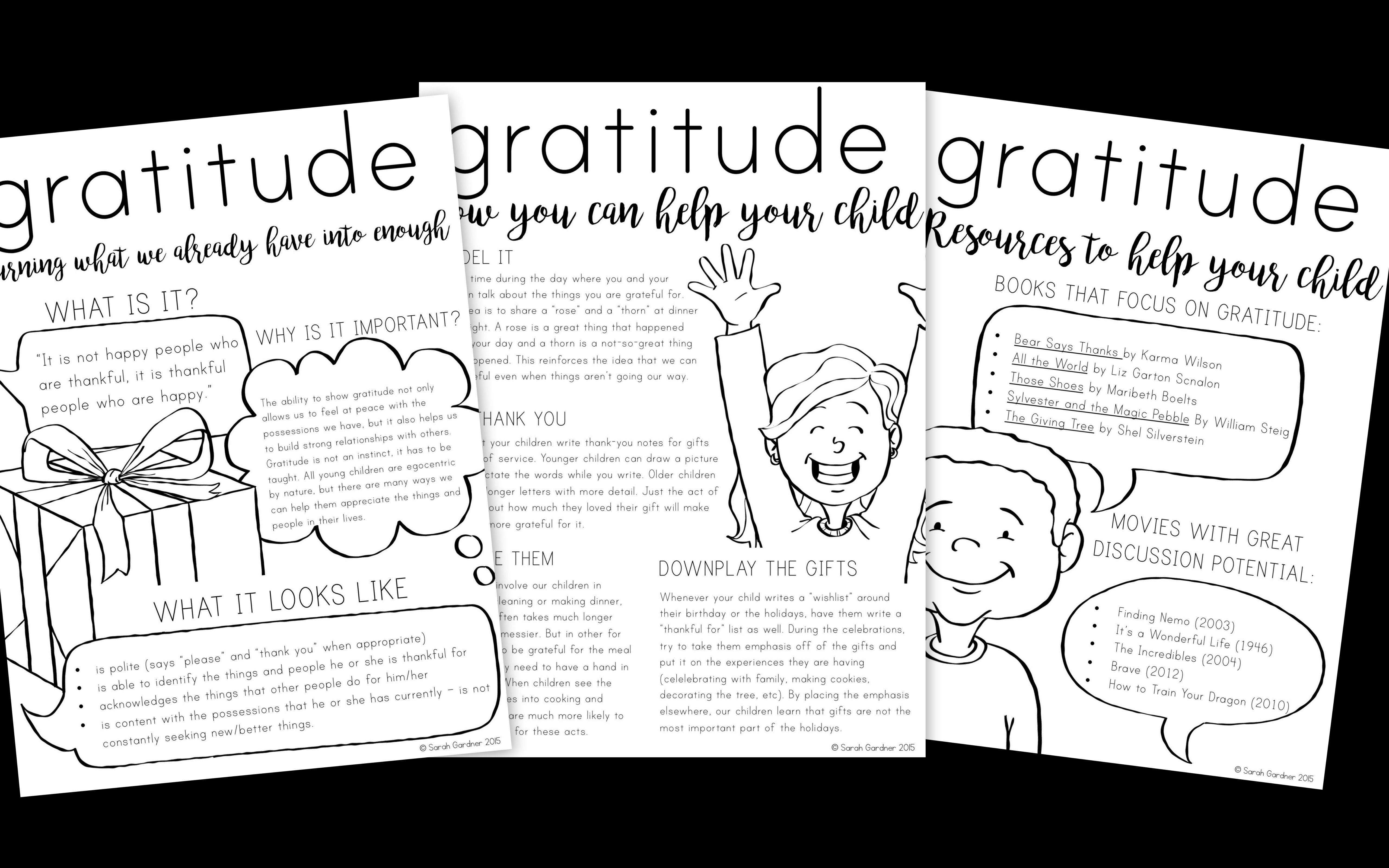 Gratitude Parent Letter | Letter to parents, Parenting ...