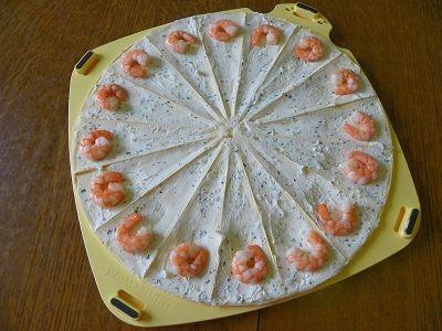 Croissants Apero Aux Crevettes Thermomix Recettes