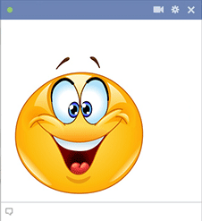 Give your friends a much needed jolt of positivity when you share this emoticon.