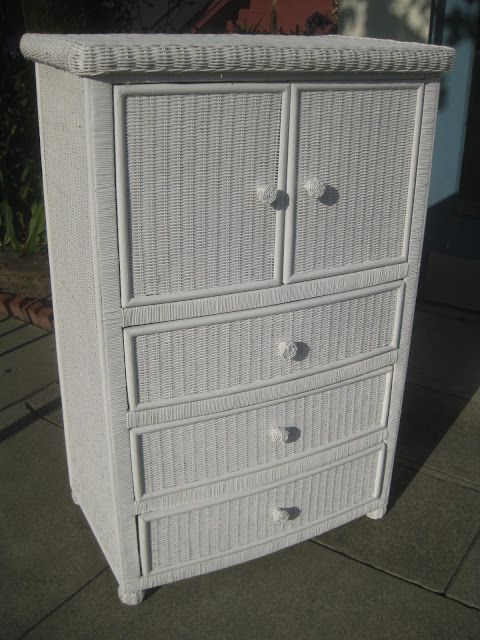 White Wicker Dresser Bedroom Pinterest Wicker bedroom, Wicker