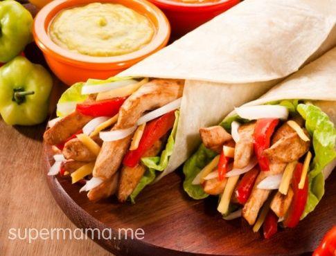 طريقة عمل ساندوتش فاهيتا دجاج للدايت Recipe Fajita Recipe Chicken Fajitas Chicken Fajita Recipe