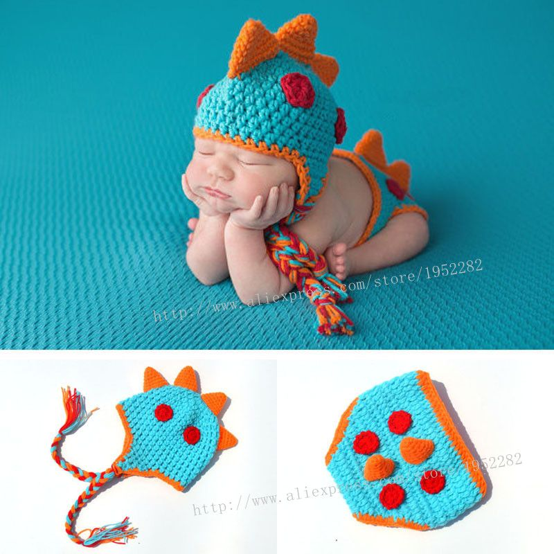 Click to Buy    Selling Newborn Photography Props Costume Handmade Crochet  Knit Infant.    eccea9d14ce