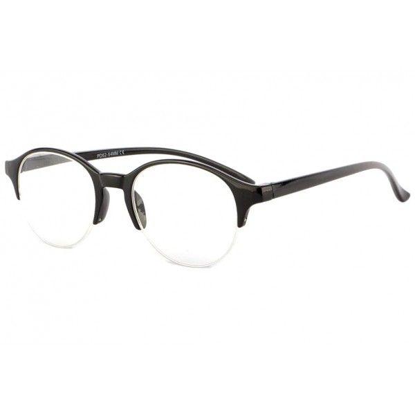 ff0aae80c23d6 Lunettes loupe club noires style retro et mode modèle Holy, lunettes de  lecture vintage homme