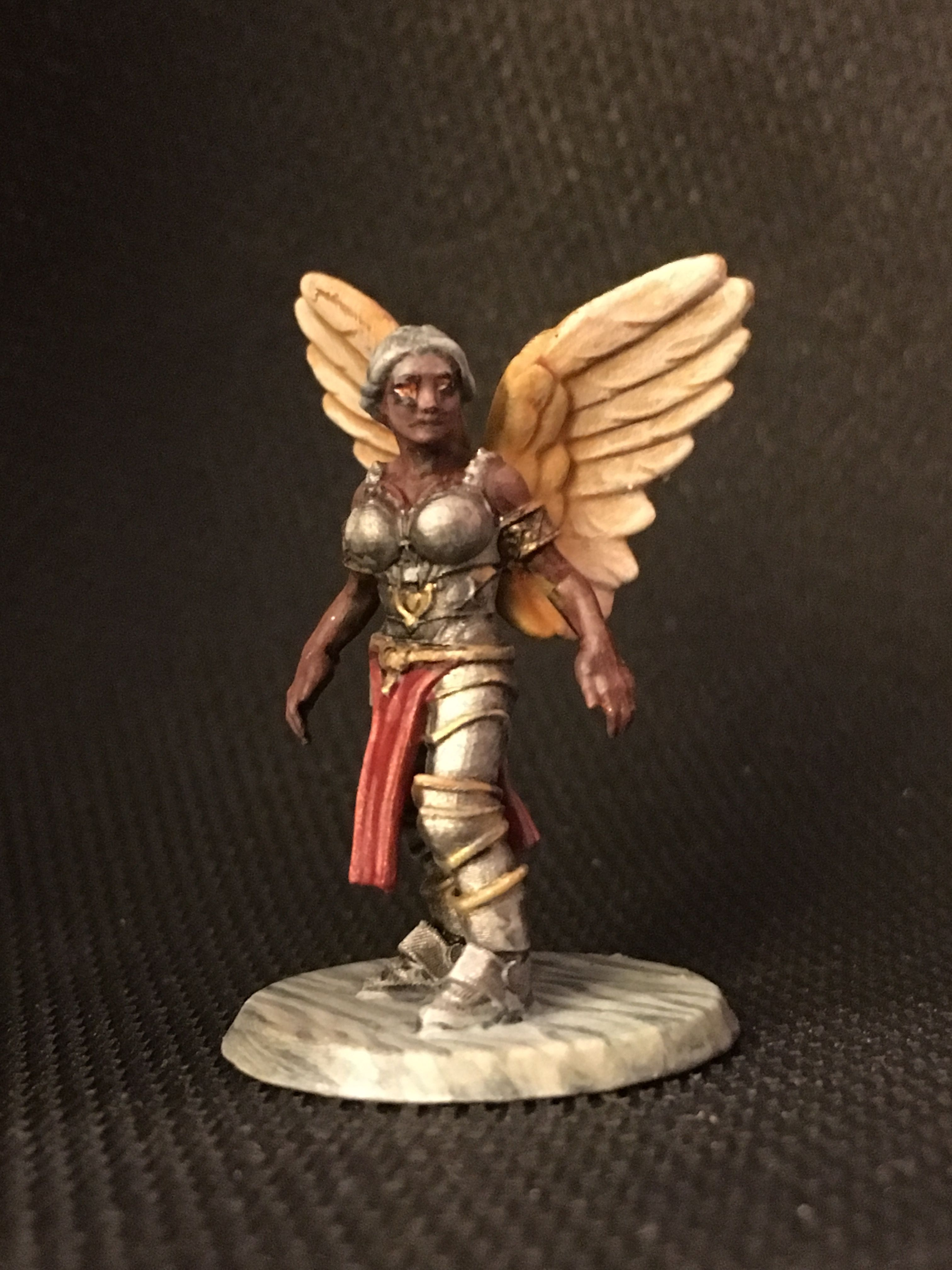 Hero Forge mini of a celestial  Painted by C  Pandolph