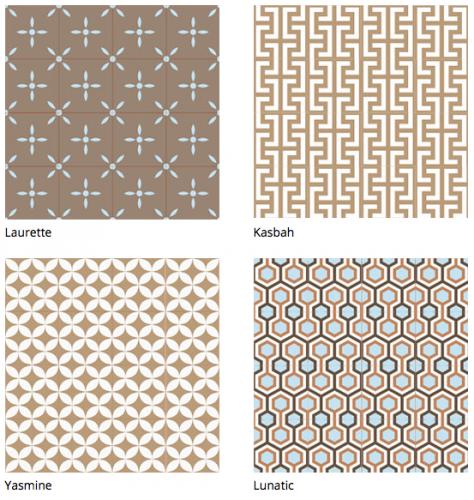 quand la marque bahya modernise le carrelage marble. Black Bedroom Furniture Sets. Home Design Ideas