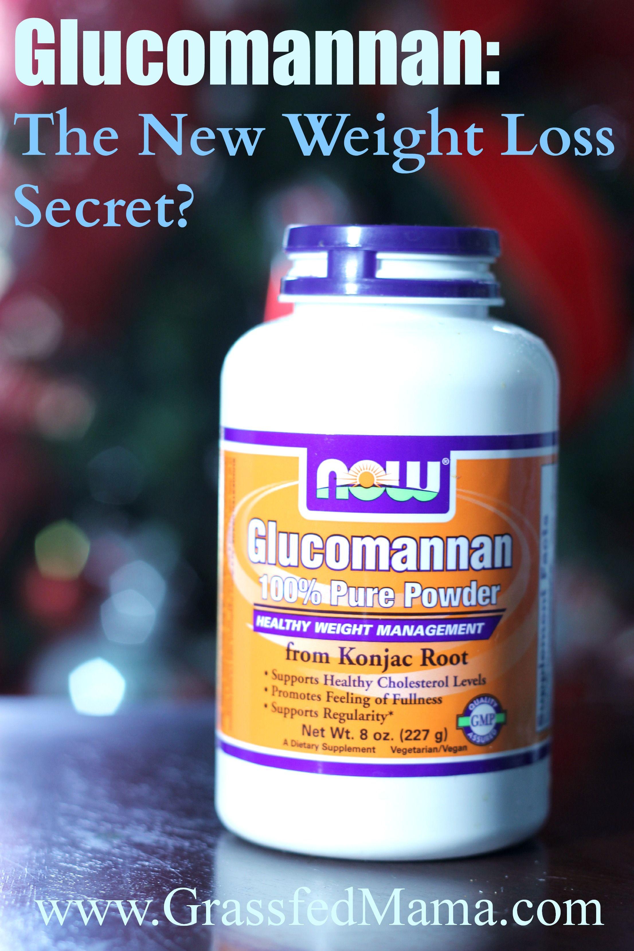 Glucomannan The New Weight Loss Secret Get Off My Butt Weight