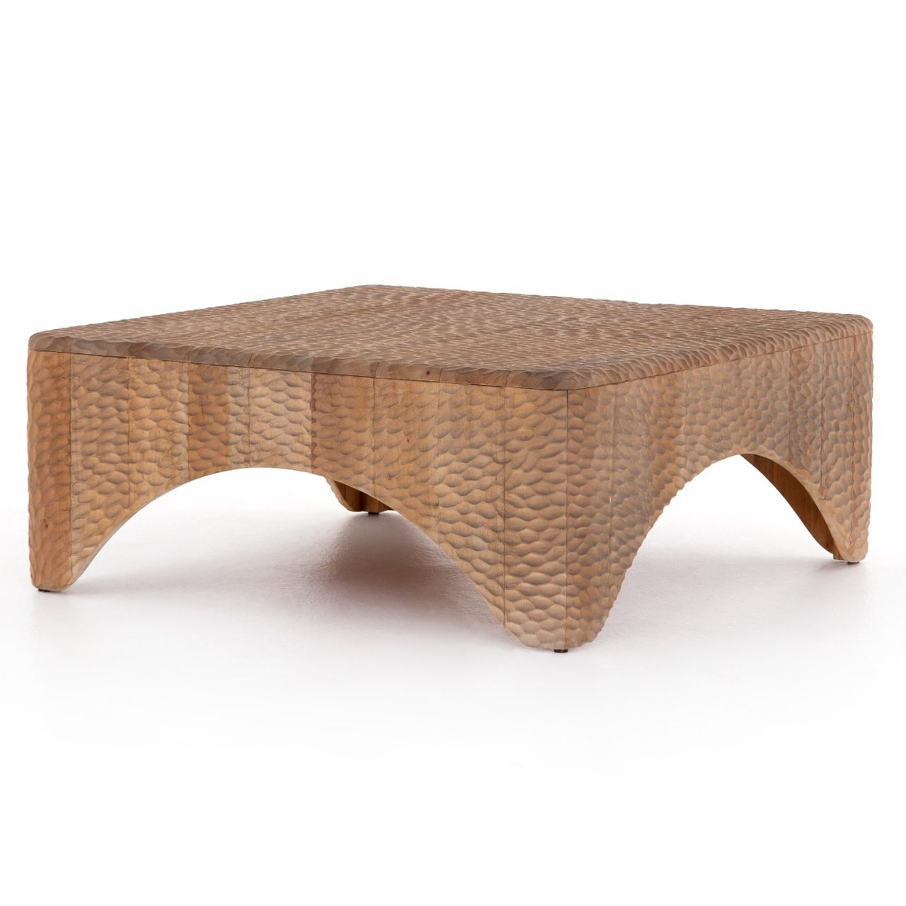 Atrumed Carved Mahogany Wood Square Coffee Table 40 [ 1280 x 1280 Pixel ]