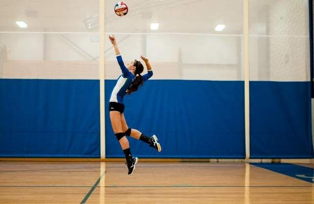 I Love Jump Serving Because I Can Feel The Power Behind It And It S Harder For The Other Team To Get Up Volleyball Jump Workout Vertical Jump Training