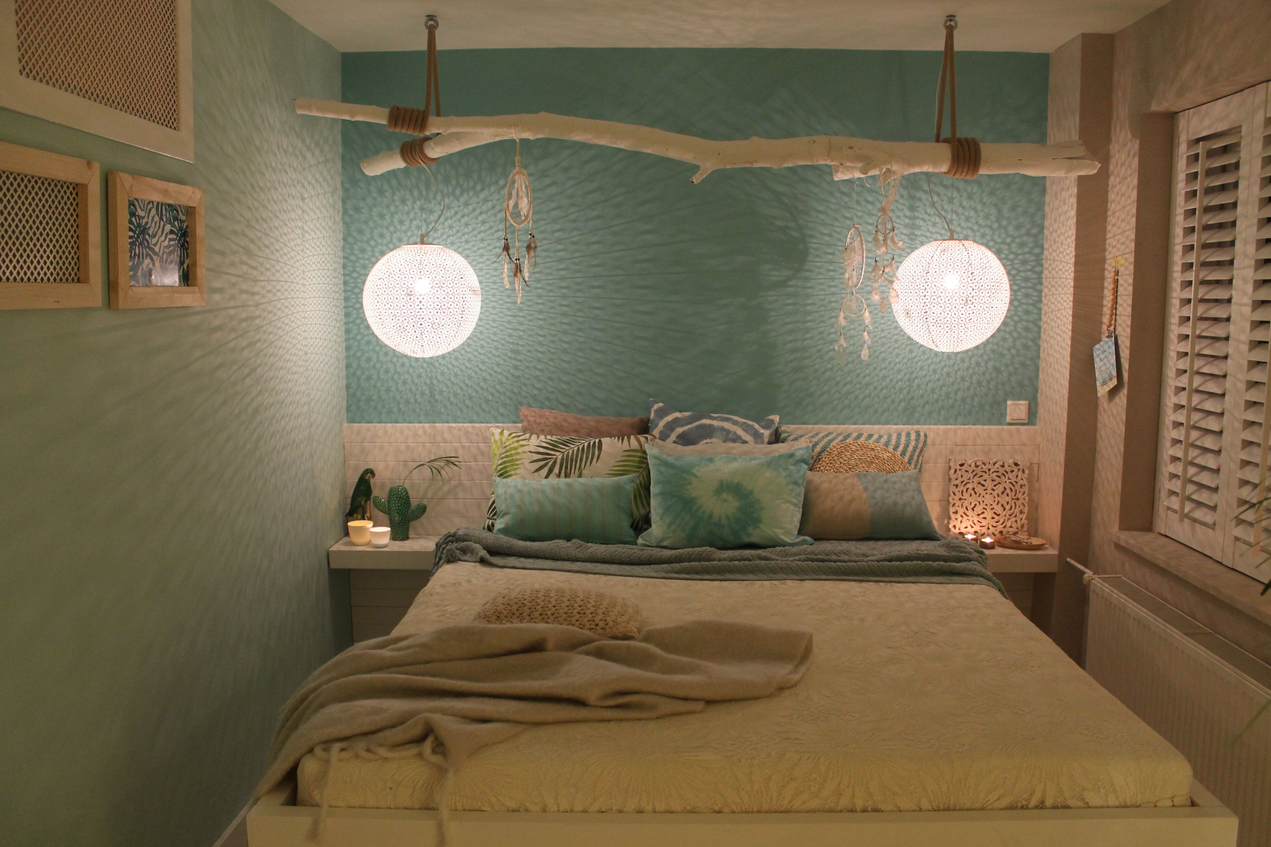 eigen huis en tuin praxis maak je eigen lamp voor in de slaapkamer boven je bed