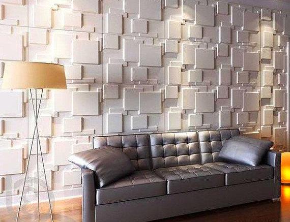 3d Panel Concrete Mold Cement Mold Wall Panel Plastic