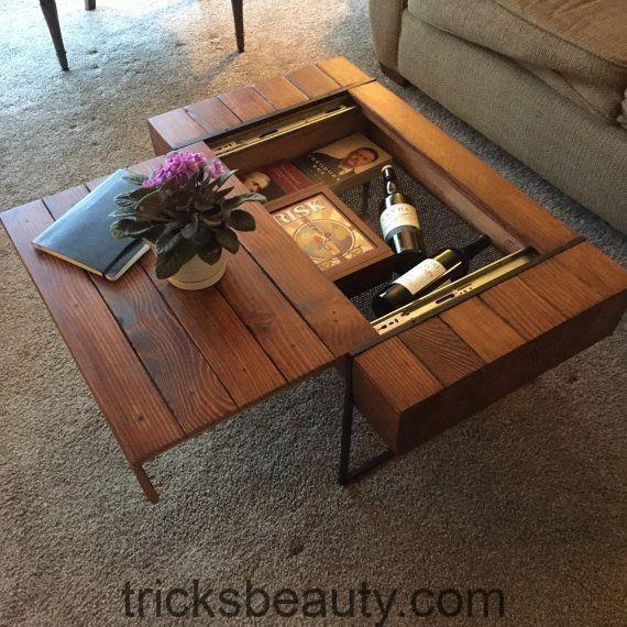 Kaffeetisch-Ideen im Wohnzimmer, die Schönheit erhöhen ...