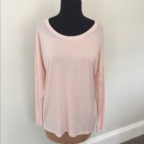 NWT Vince ballet pink tee. Effortless elegance! NWT Vince tee with cute mesh panels on sleeves. Ballet pink color. Softest cotton imaginable! You will not want to take this shirt off. Looks and feels great on! Vince Tops