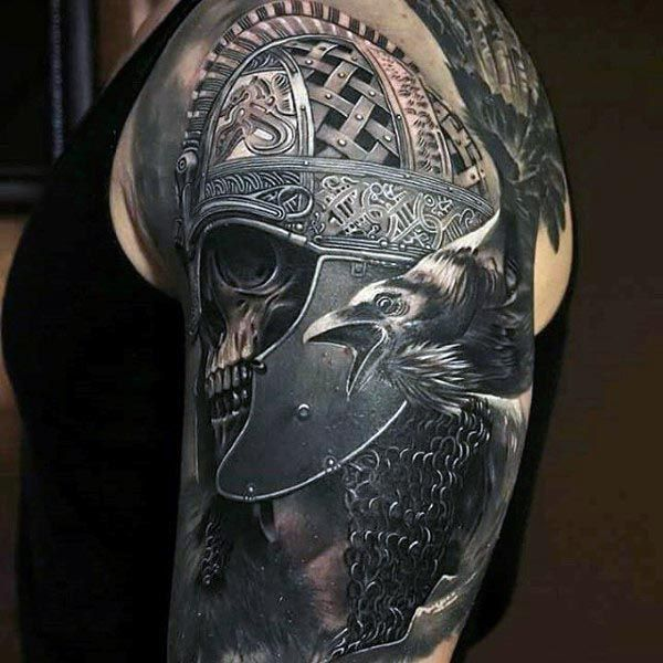 90 cool arm tattoos for guys tattoos pinterest arm for Italian warrior tattoos